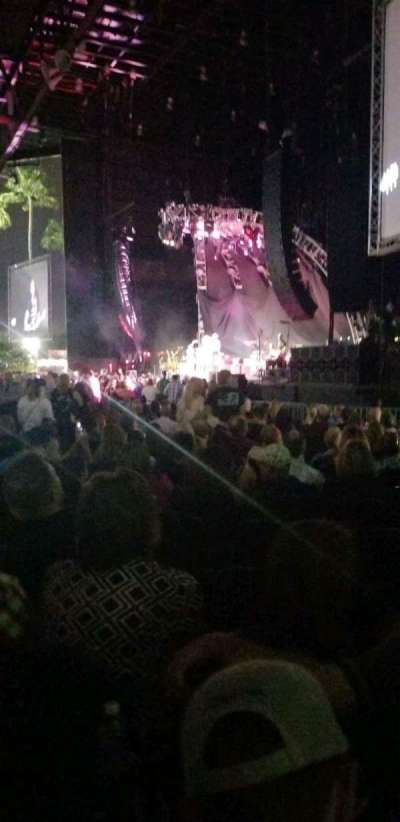 iThink Financial Amphitheatre, section: 1, row: XX , seat: 7