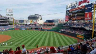 Nationals Park, section: 225, row: j, seat: 1