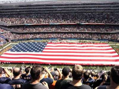 Soldier Field, section: 436, row: 31