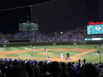 Wrigley Field, section: 117, row: 7, seat: 6