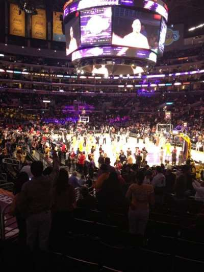 Staples Center, section: 117, row: 15, seat: 4,5
