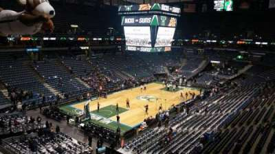 BMO Harris Bradley Center, section: 406, row: C, seat: 6