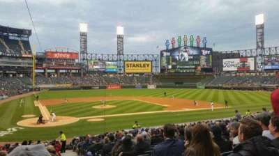 Guaranteed Rate Field, section: 129, row: 28, seat: 1