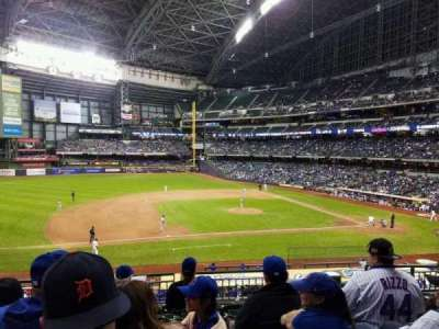 Miller Park, section: 225, row: 6, seat: 5