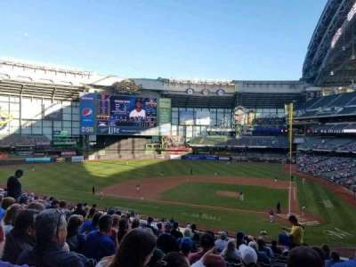 Miller Park, section: 222, row: 14, seat: 4