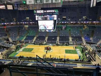 BMO Harris Bradley Center, section: 421, row: H, seat: 11