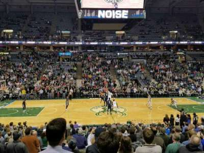 BMO Harris Bradley Center, section: 200, row: Q, seat: 13