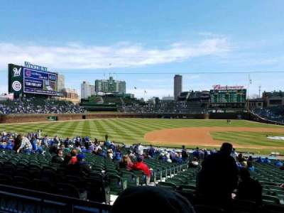 Wrigley Field, section: 213, row: 2, seat: 101