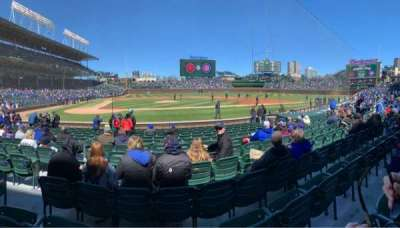 Wrigley Field section 22