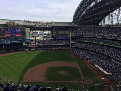 Miller Park, section: 428, row: 17, seat: 4