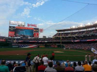 Nationals Park, section: 117, row: N, seat: 17