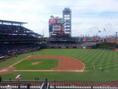 Citizens Bank Park, section: 215, row: 5, seat: 5