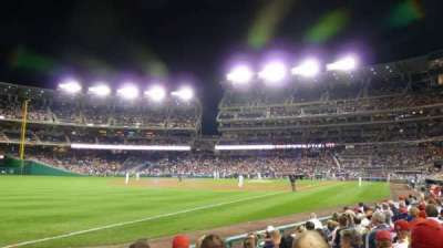 Nationals Park, section: 110, row: J, seat: 11