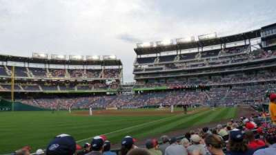 Nationals Park, section: 110, row: K, seat: 15