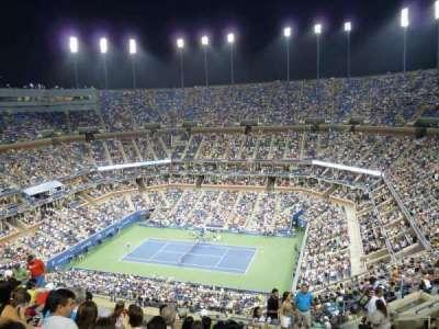 Arthur Ashe Stadium, section: 314, row: N
