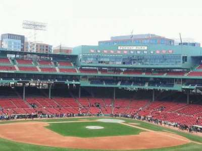 Fenway Park section green monster 8