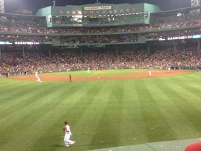 Fenway Park, section: 35, row: 2, seat: 5