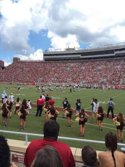 Bobby Bowden Field at Doak Campbell Stadium, section: 29, row: 6, seat: 15