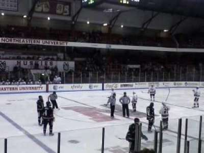 Matthews Arena, section: 10, row: E, seat: 12