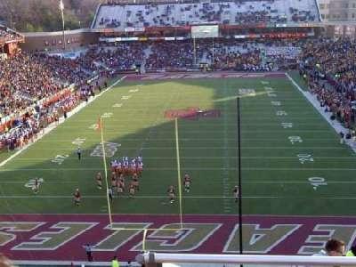 Alumni Stadium, section: XX, row: 11, seat: 15