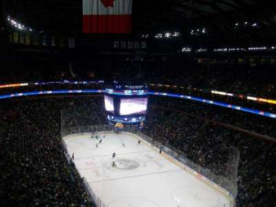 KeyBank Center, section: 301, row: 13, seat: 8