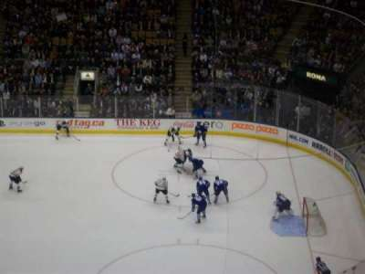 Air Canada Centre, section: 319, row: 14, seat: 33