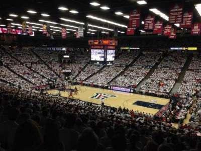 McKale Center, section: 1, row: 29A