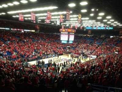 McKale Center, section: 7, row: 29