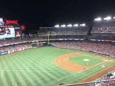 Nationals Park, section: 403, row: B, seat: 7