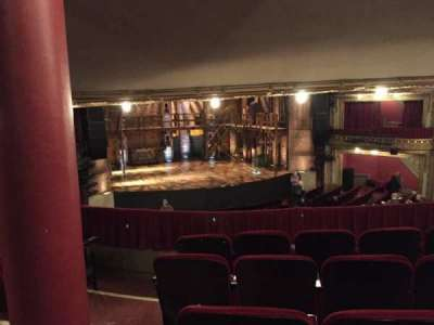 PrivateBank Theatre, section: Dress Circle LC, row: E, seat: 235