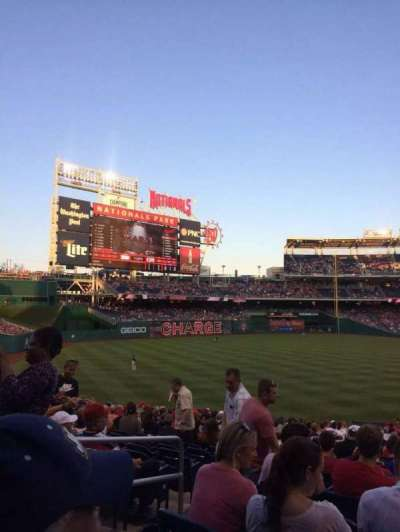 Nationals Park, section: 108