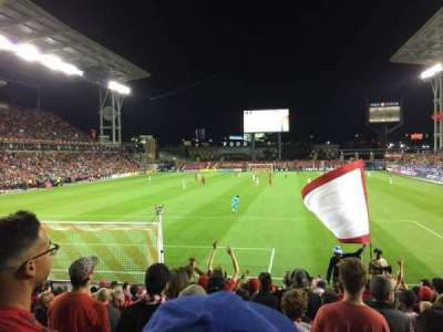 BMO Field, section: 114, row: 13, seat: 27