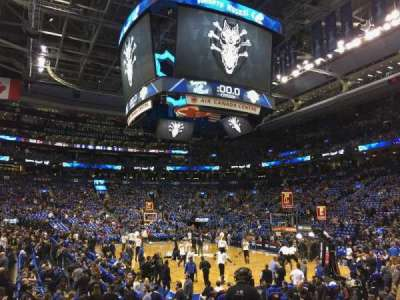 Air Canada Centre, section: 104, row: 9, seat: 10