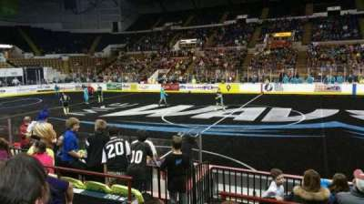 UW-Milwaukee Panther Arena, section: 207, row: 4, seat: 10
