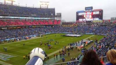 Nissan Stadium, section: 243, row: E, seat: 8