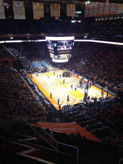 Thompson-Boling Arena, section: 315, row: 5, seat: 6