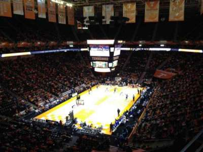 Thompson-Boling Arena, section: 311, row: 2, seat: 1