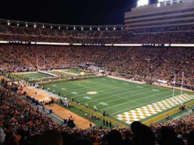 Neyland Stadium, section: P, row: 58, seat: 18