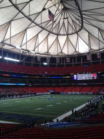 Georgia Dome section 122