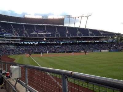 Kauffman Stadium section 146