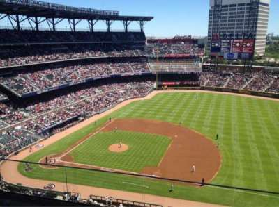 SunTrust Park, section: 417, row: 4, seat: 13