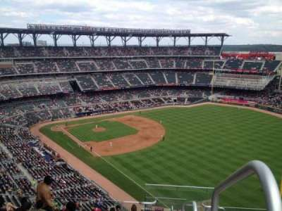 SunTrust Park, section: 412, row: 12, seat: 1