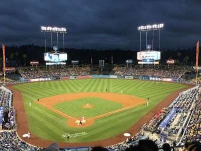 Dodger Stadium, section: 2RS, row: G, seat: 9