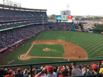 Angel Stadium, section: 527, row: A, seat: 1