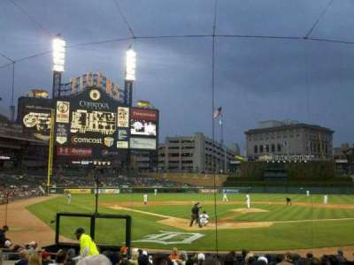 Comerica Park, section: 126, row: 18, seat: 7