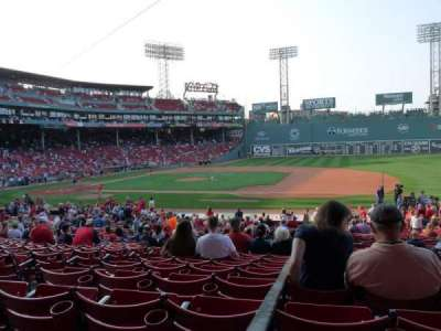 Fenway Park, section: Grandstand 14, row: 1, seat: 20