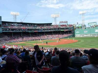 Fenway Park section Loge Box 100