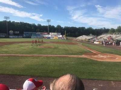 G. Richard Pfitzner Stadium, section: L, row: C, seat: 5
