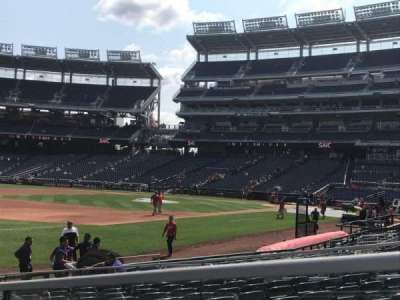 Nationals Park, section: 112, row: R, seat: 14