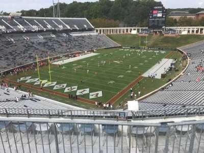 Scott Stadium section 516